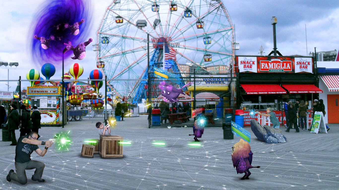 Augmented Reality Theme Park